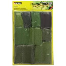 07066 Assortiment fibre herbe courte