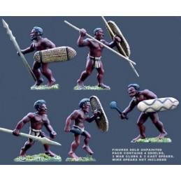 Guerriers mélanésiens