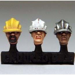 Têtes d'ouvriers I