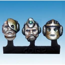Têtes de robots/cyborgs