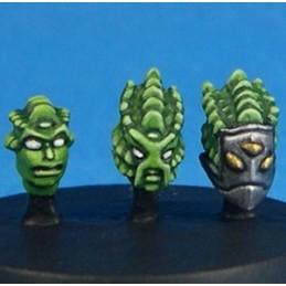 Têtes d'aliens II