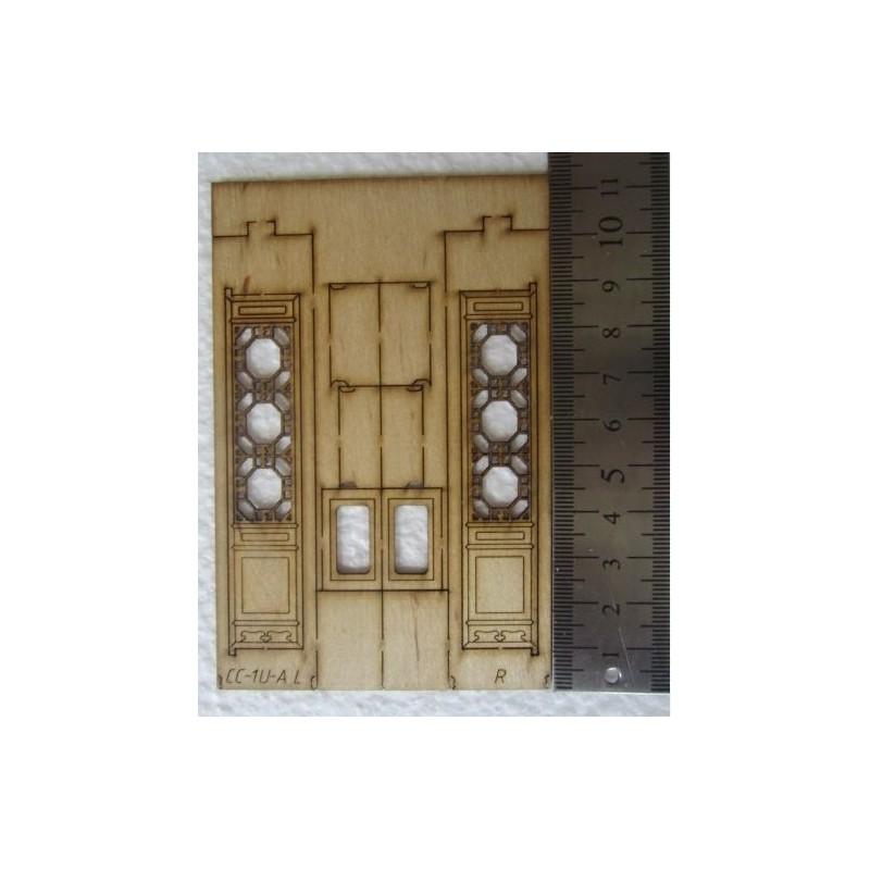 CC-1U-A (2 pièces) Fenêtre/porte