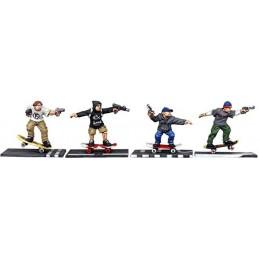 Skateboarders armés