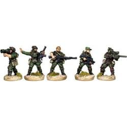 Troupes d'assaut- commandement et armes de soutien
