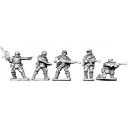 Troupes de jungle - commandement et armes de soutien