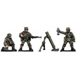 Mortier des troupes d'assaut