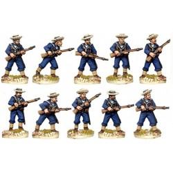 Marins britanniques en chapeau