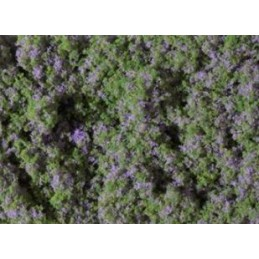 76931 Filet floqué fleuri 95 x 150mm