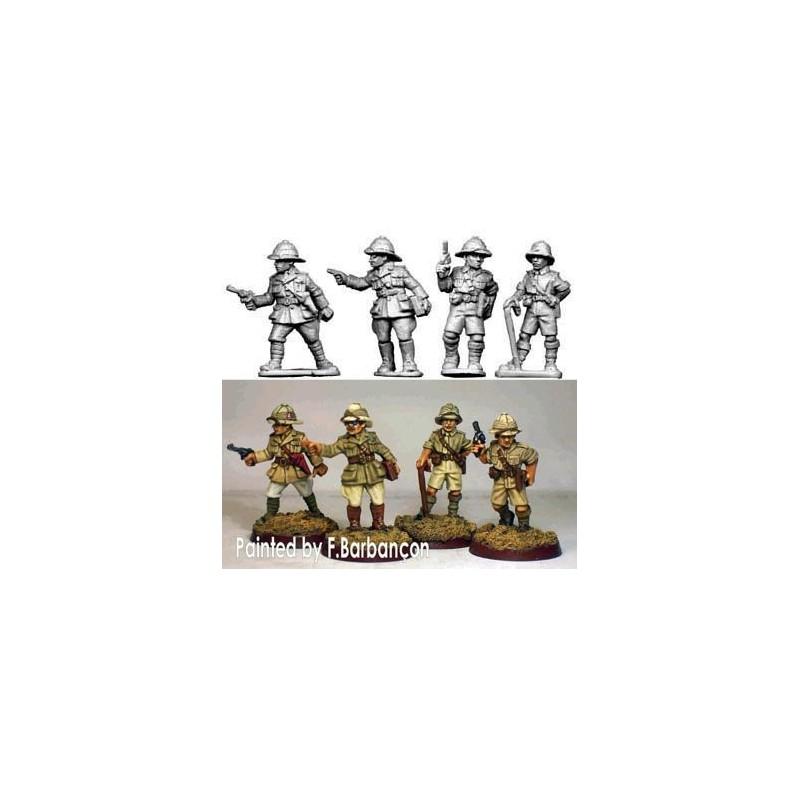 Officiers britanniques