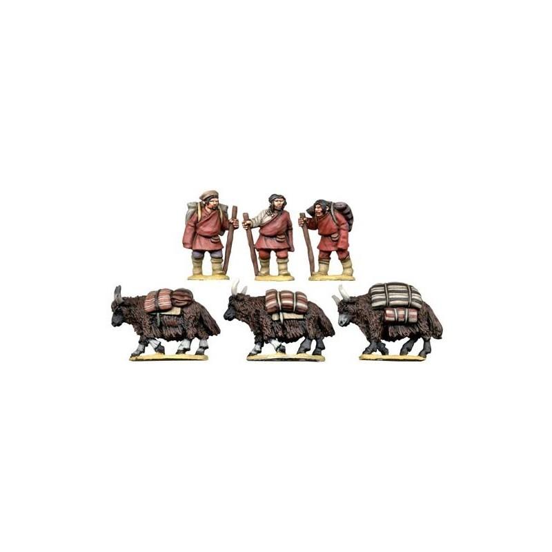Caravane tibétaine