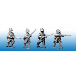 MOD036 Légionnaires en manteau et en casque
