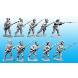 Infanterie bolchevique