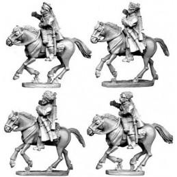 Portes étendards cosaques