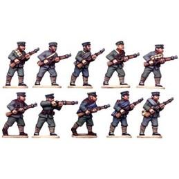 Infanterie chinoise tiraillant