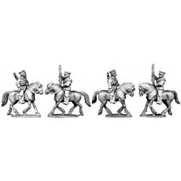 Cavalerie chinoise en casquette