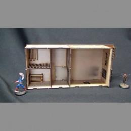 Extension/cellule pour le bureau du shérif