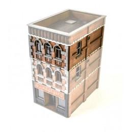 Bâtiment d'habitation/boutique - étage supplémentaire A