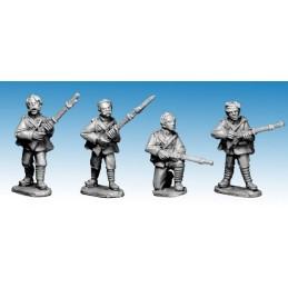 NWF006 Infanterie britannique têtes nues