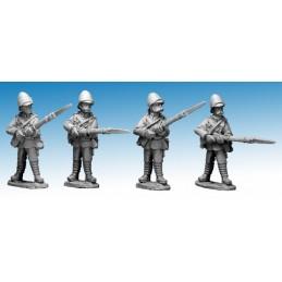 """NWF007 Infanterie britannique """"baïonnette au canon"""""""
