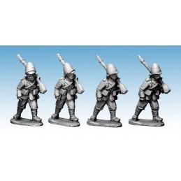 NWF016 Infanterie britannique marchant