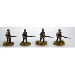 "NWF020 Highlanders en pantalon ""avançant"""