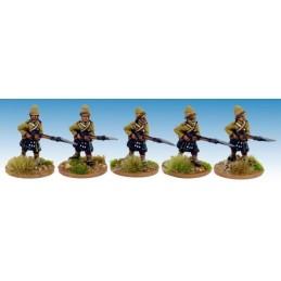 """NWF026 Highlanders en kilt """"avançant""""II"""