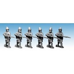"""NWF028 Highlanders """"baïonnette au canon"""""""