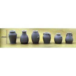 Lot de 6 Vases