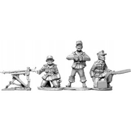 SWW011 - Deutsches Afrika Korps équipe mitrailleuse lourde