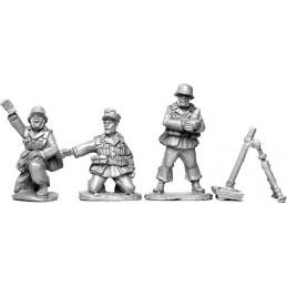 SWW012 - Deutsches Afrika Korps équipe mortier
