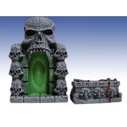Porte et autel