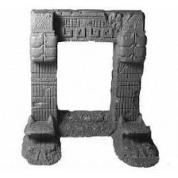 Portique aztèque