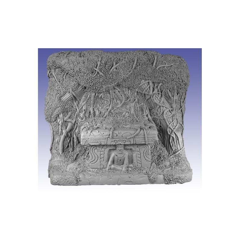 Autel aztèque enseveli