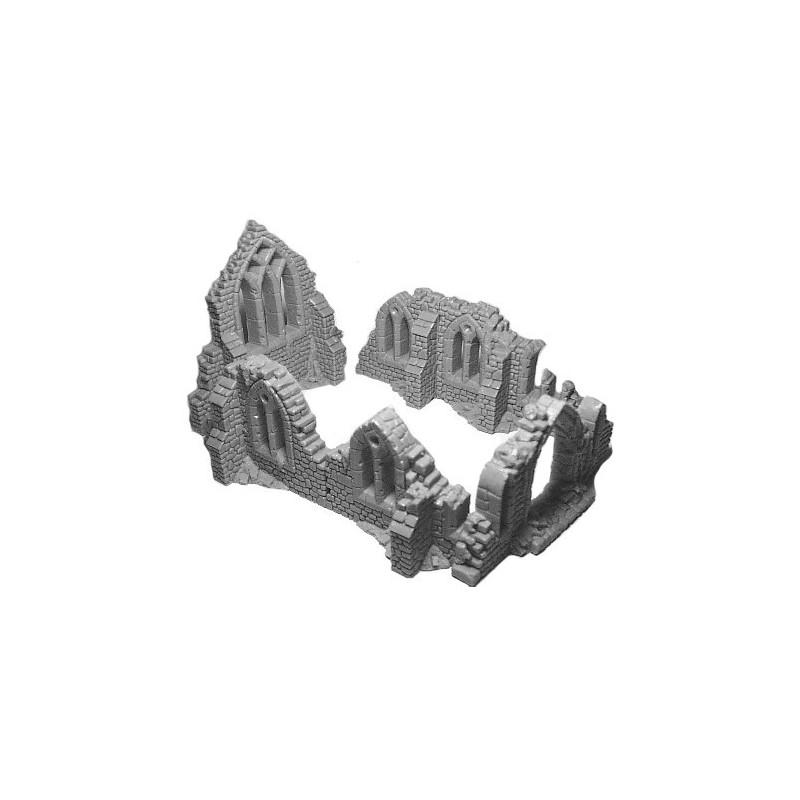 Ruine de cathédrale
