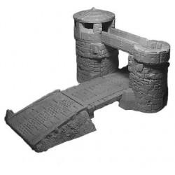 Bastion nain avec pont-levis