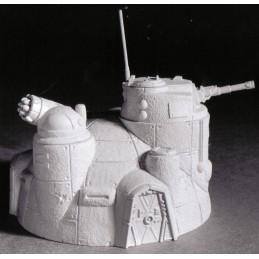 Bunker de commandement avec canon