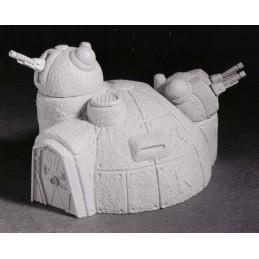 Bunker avec canons flak