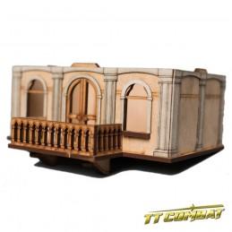 Etage supplémentaire avec balcon maison noble A