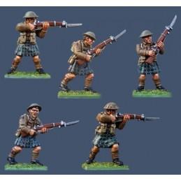 PBT10 Highlanders avec fusils