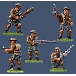 PBT11 Highlanders avec armes spéciales