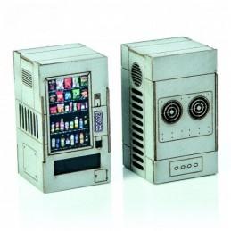 Distributeurs automatiques gris