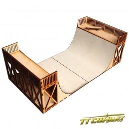 Le piste de skateboard