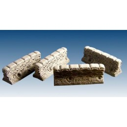 10073 Sections droites de sacs de sable