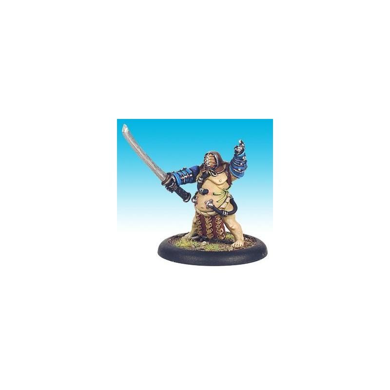 13410 Sumo garde du corps avec épée à deux mains