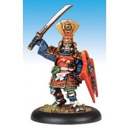13415 Hatamoto vétéran avec katana et bouclier