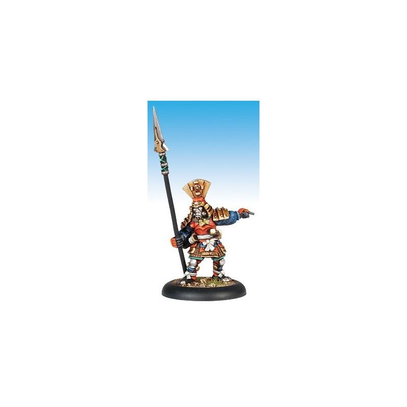 13416 Hatamoto vétéran avec lance