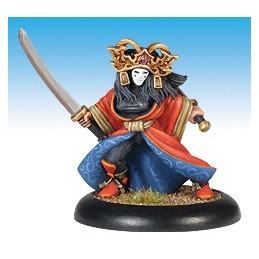 13422 Actrice Kabuki avec katana