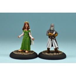 La reine Guinevere et Sir Noere