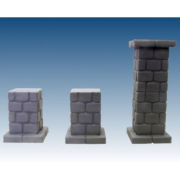 Colonnes en pierre