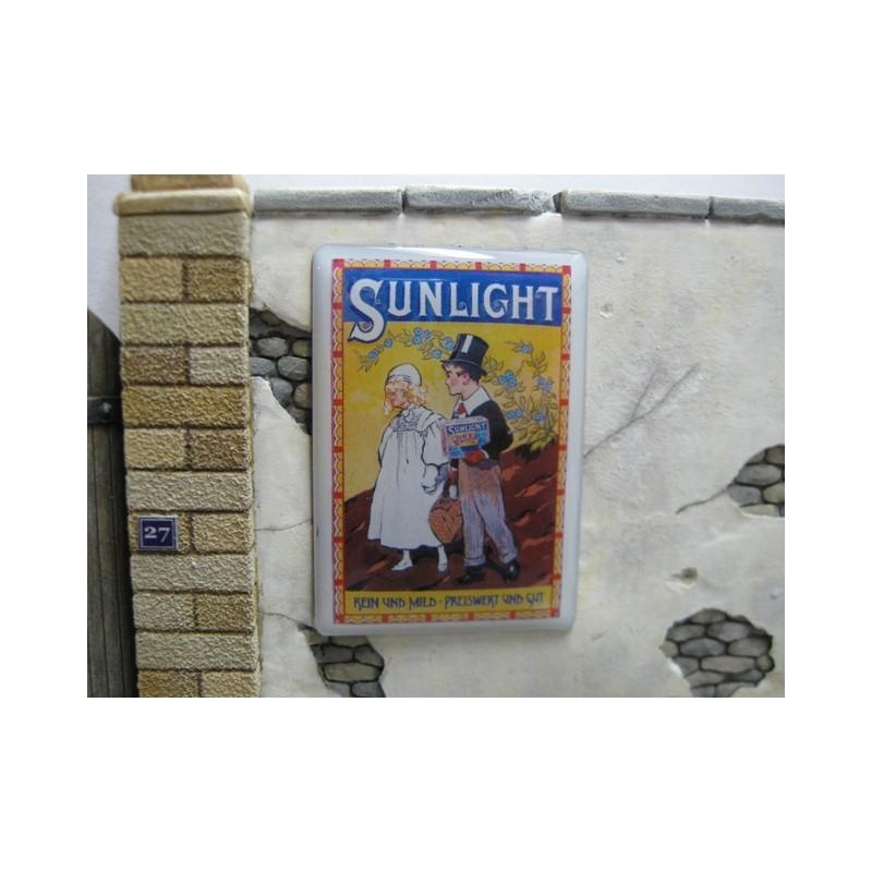 """Panneau publicitaire """"Sunlight"""""""